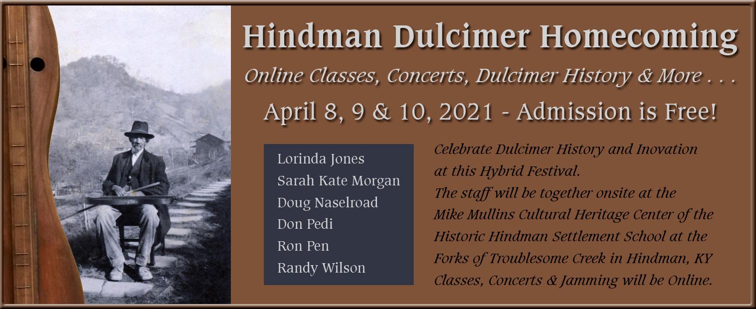 2021 Hindman Dulcimer Homecoming Flyer